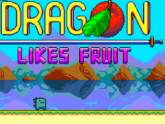 Dragon Likes Fruit